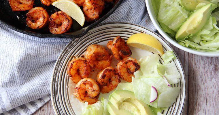 Blackened Shrimp (Low Carb, Gluten-Free )