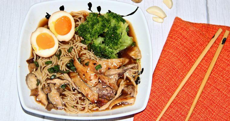Homemade Chicken Ramen Noodles