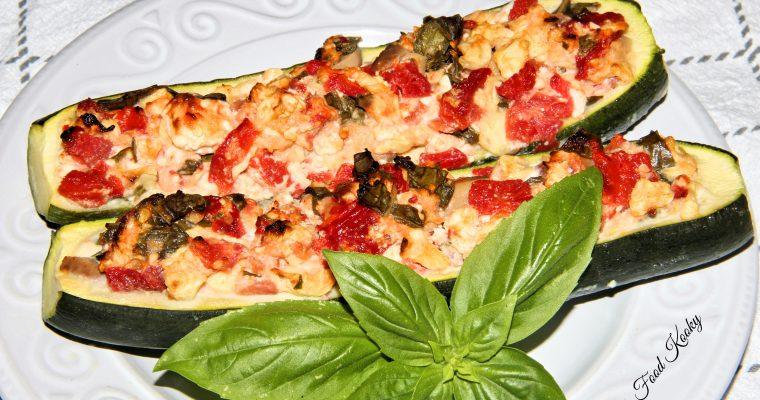 Mediterranean Zucchini Boats (Gluten Free)