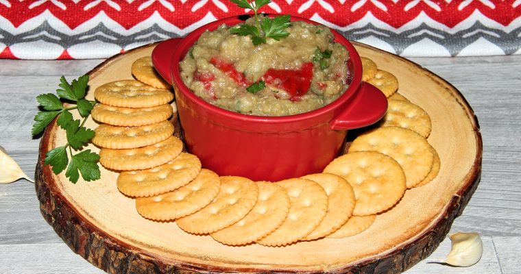 Eggplant and Bell Pepper Dip