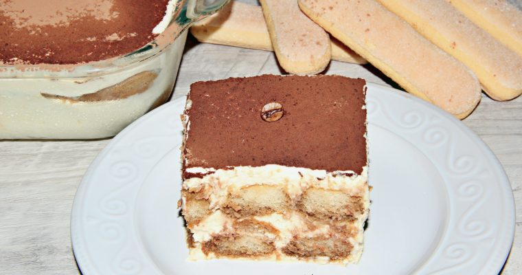 Classic Italian Tiramisu (Video and Step by Step Pictures)