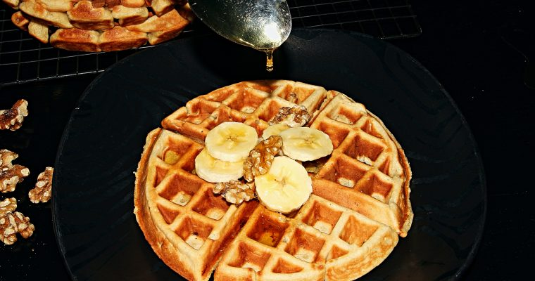 The Best Homemade Whole Wheat Banana Waffles