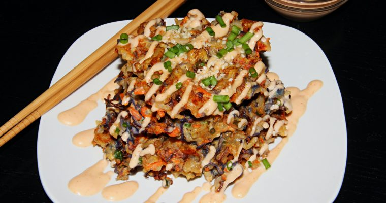 Asian Waffles with Leftover Rice (Gluten Free)