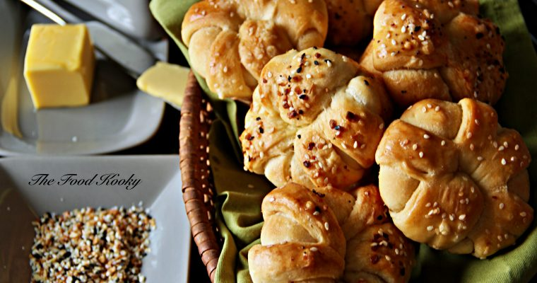 Buttery Bread Rolls (Step by Step Photos and Video)