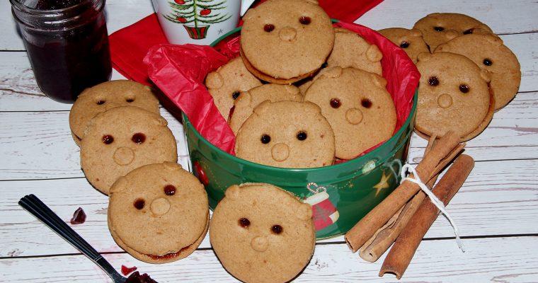 Christmas Cinnamon Honey Bears (My Favorite Childhood Cookies)
