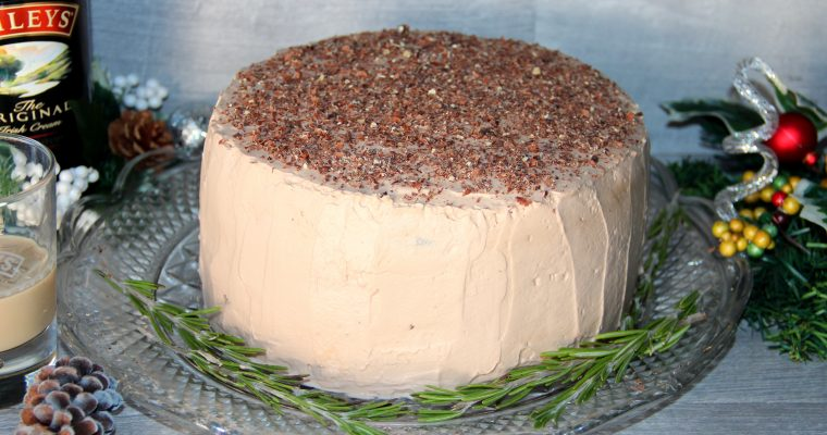 Baileys Chocolate Cake (Perfect for the New Year's Party)