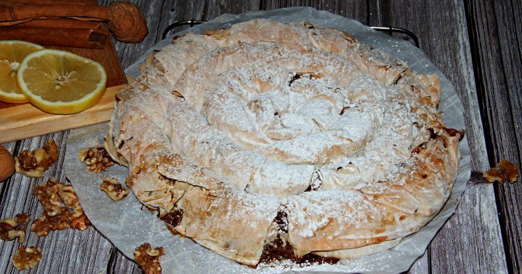 Phyllo Dough Pumpkin Pie (Step by Step Pictures and Video)