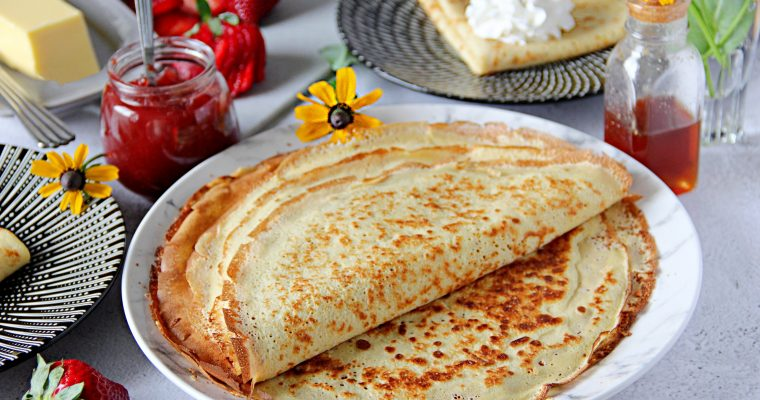 My Mother's Crepes Recipe