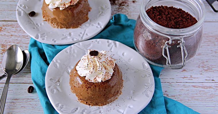 Coconut and Coffee Flan (Gluten and Dairy Free)