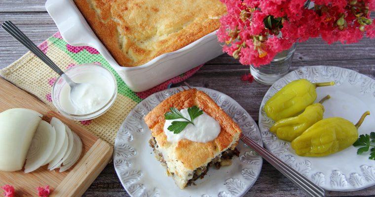 Bulgarian Potato and Meat Moussaka (No Eggplant)