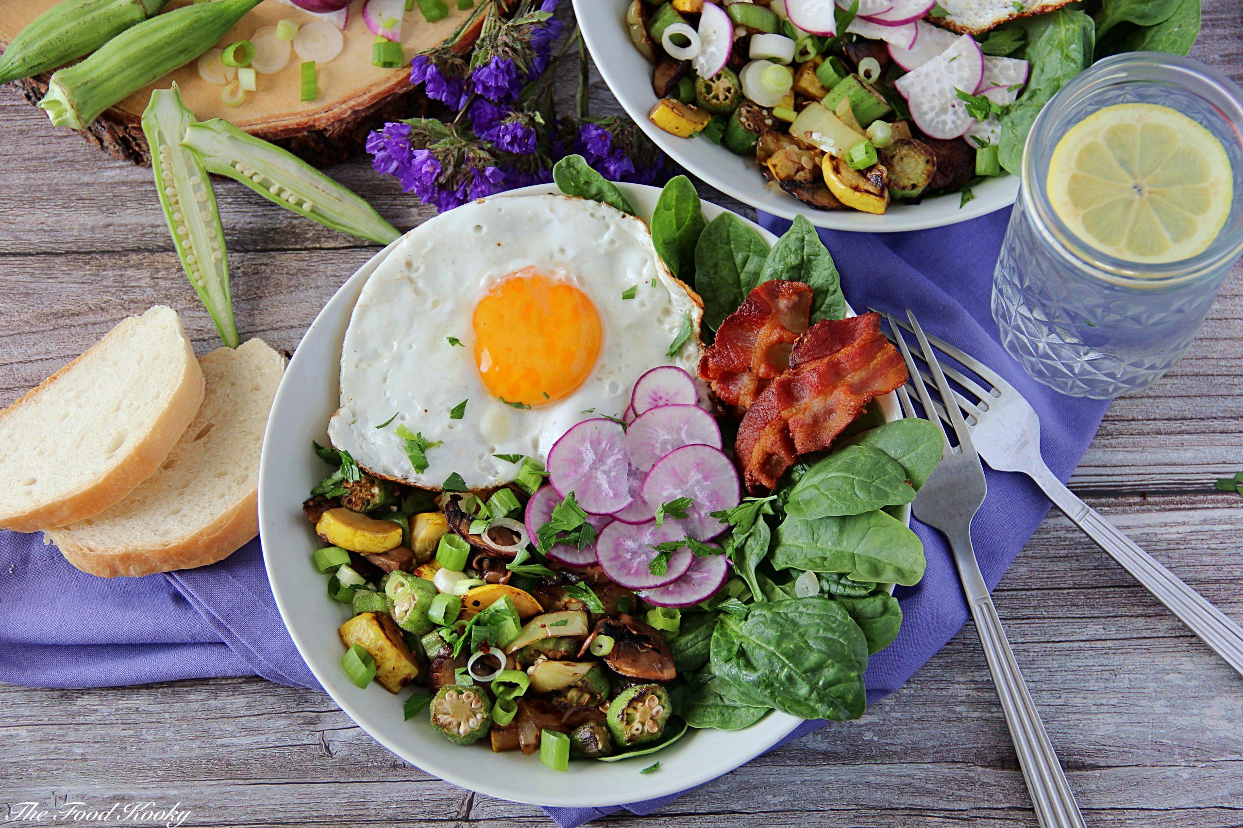 Farmer's Market Breakfast Bowl (Low Carb, Gluten Free)