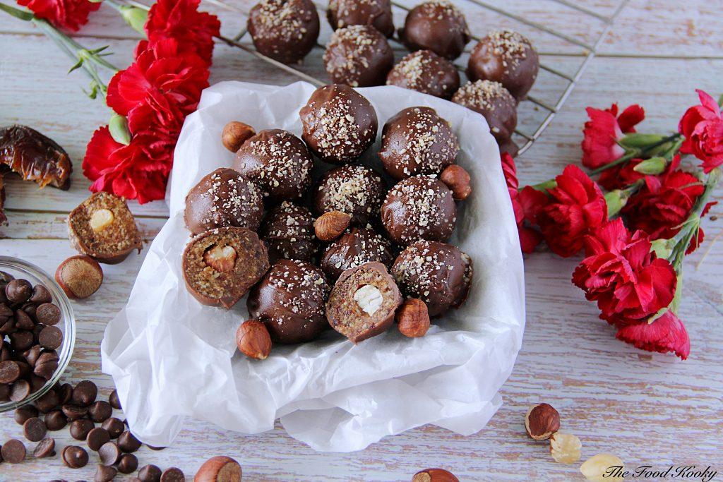 Easy Chocolate Hazelnut Truffles