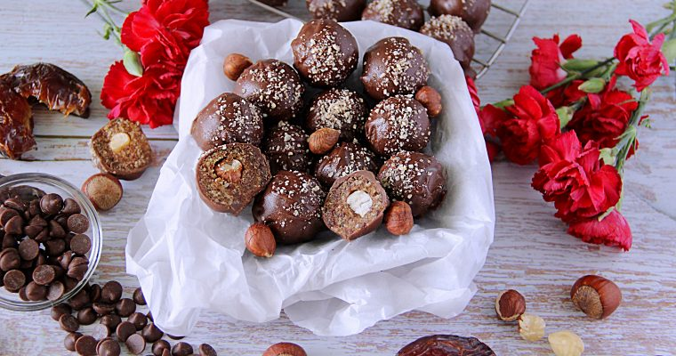 Easy Chocolate Hazelnut Truffles (Vegan)