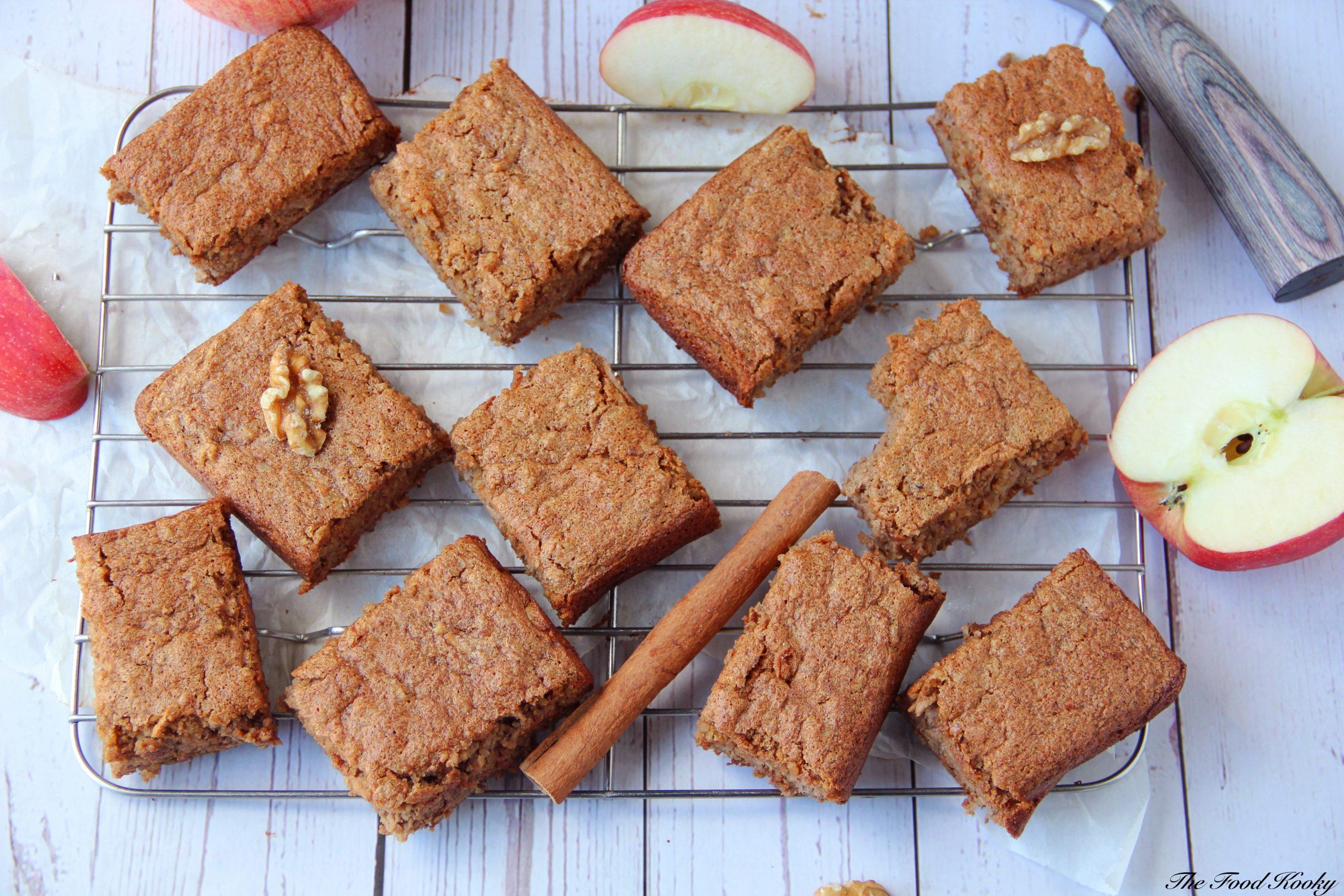 Flourless Walnut Cake with Apples and Cinnamon (Gluten Free)