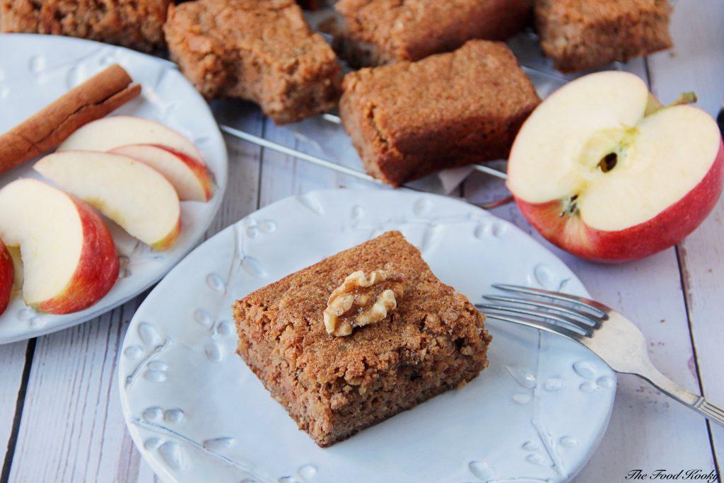 Flourless Walnut Cake with Apples and Cinnamon